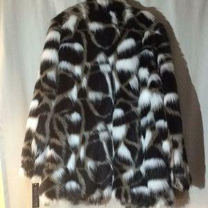 Bianca Nygard Jackets & Coats - Bianca faux fur coat, size med